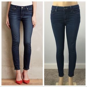Paige High Rise Verdugo Ankle Skinny Jeans Size 30